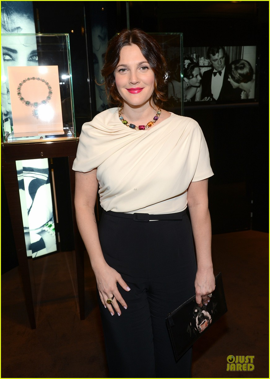 drew barrymore julianne moore elizabeth taylor bvlgari collection event 092815517