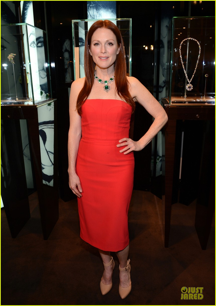 drew barrymore julianne moore elizabeth taylor bvlgari collection event 132815521