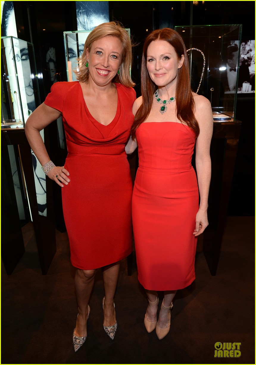 drew barrymore julianne moore elizabeth taylor bvlgari collection event 152815523