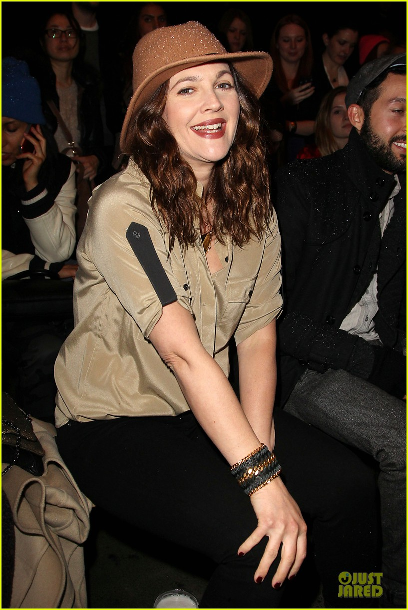 drew barrymore rag bone fashion show 14