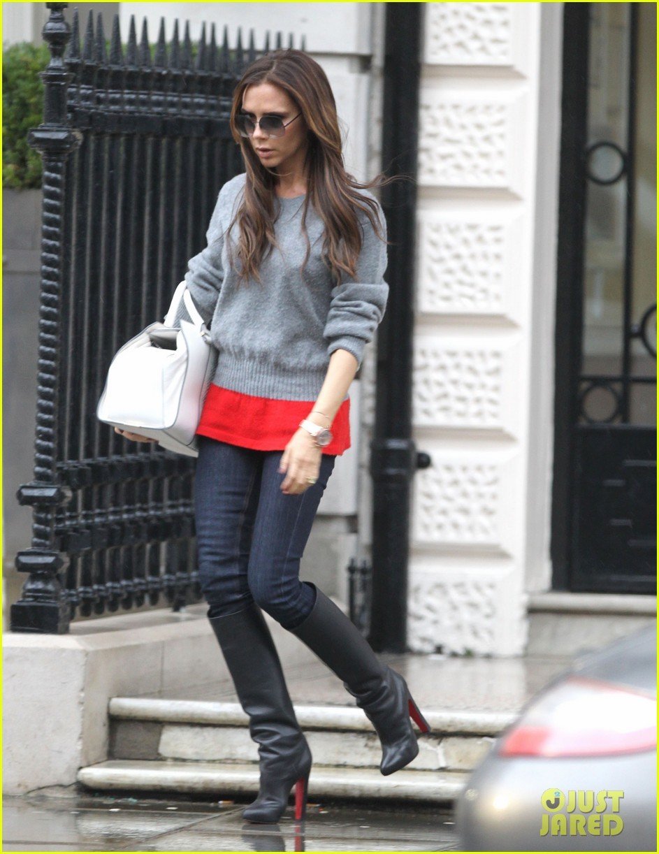 victoria david beckham separate london outings after psg announcement 012802549