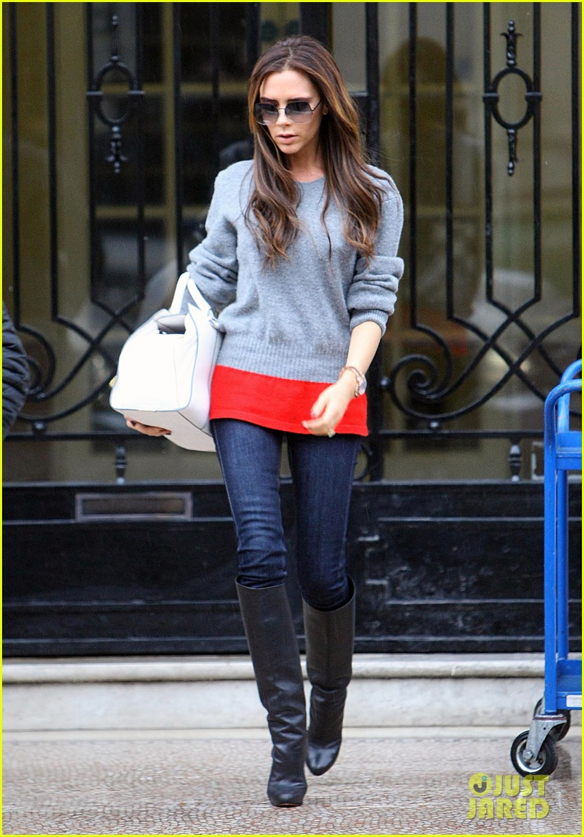 victoria david beckham separate london outings after psg announcement 142802562