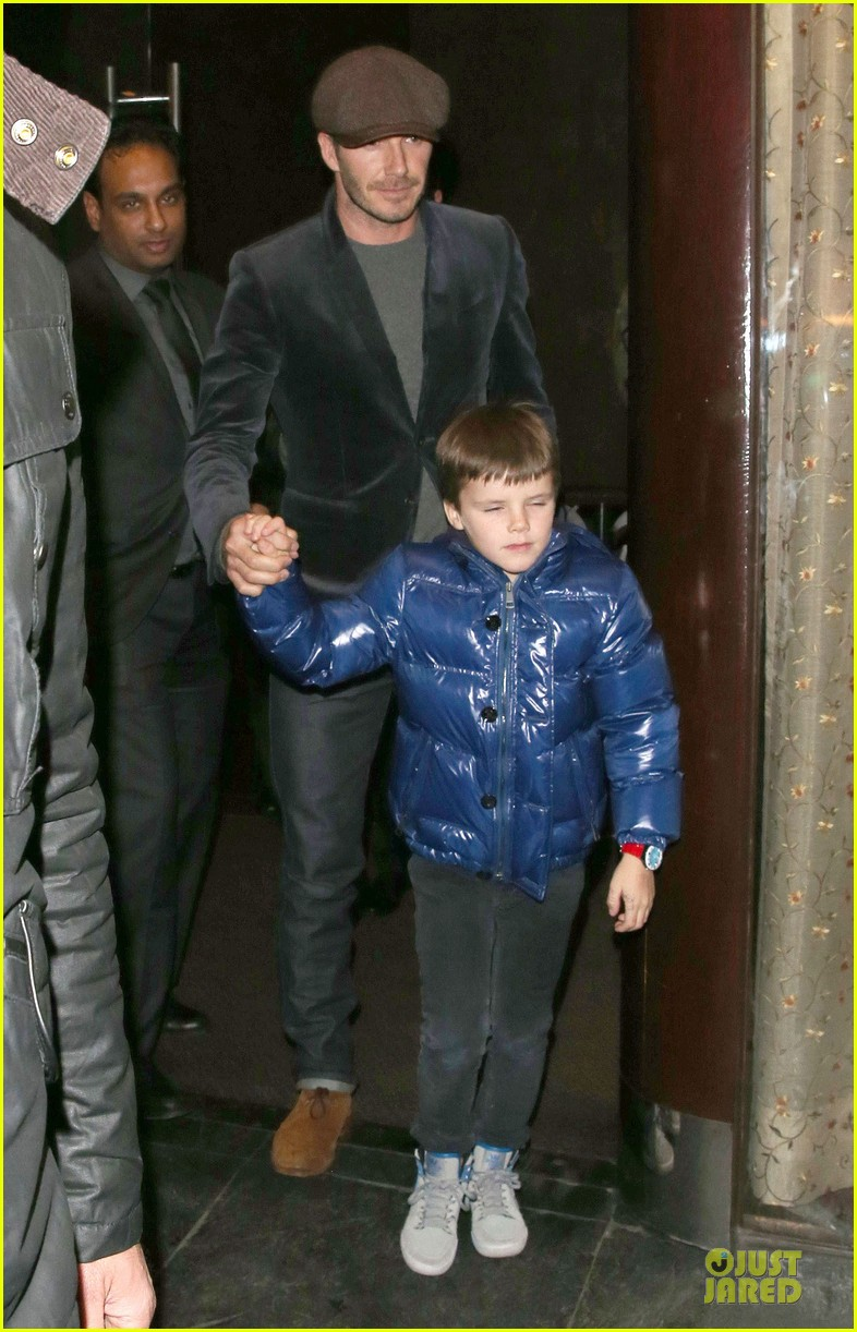 david beckham tamarind restaurant dinner with the boys 182808042