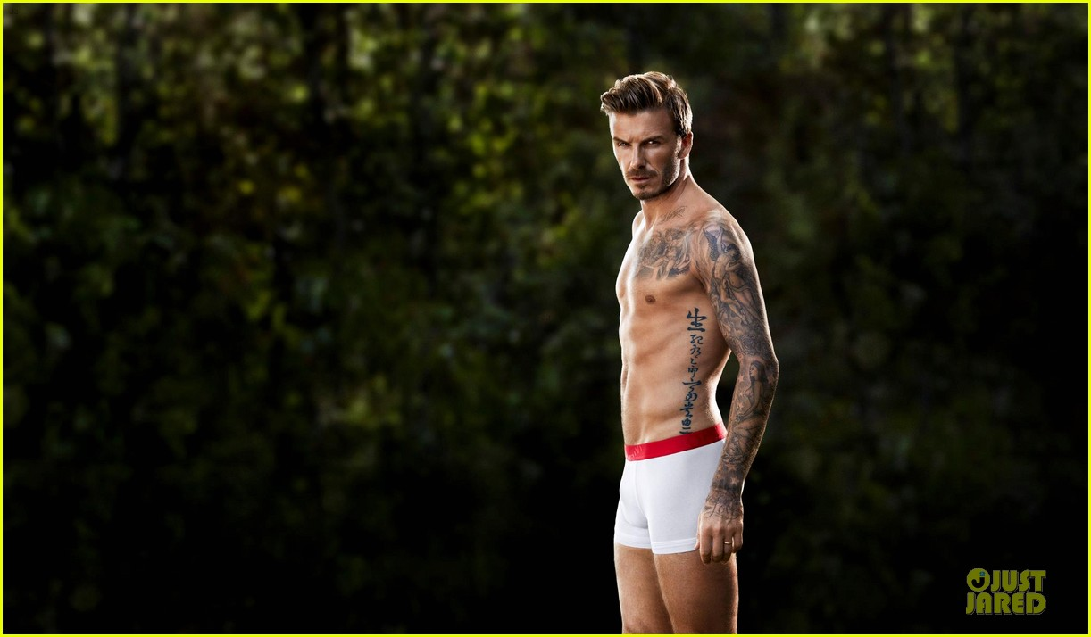 david beckham newly released shirtless underwear clad hm campaign pic 052805109