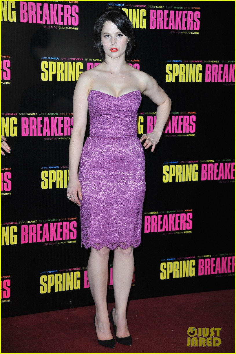 ashley benson rachel korine spring breakers paris premiere 042814575
