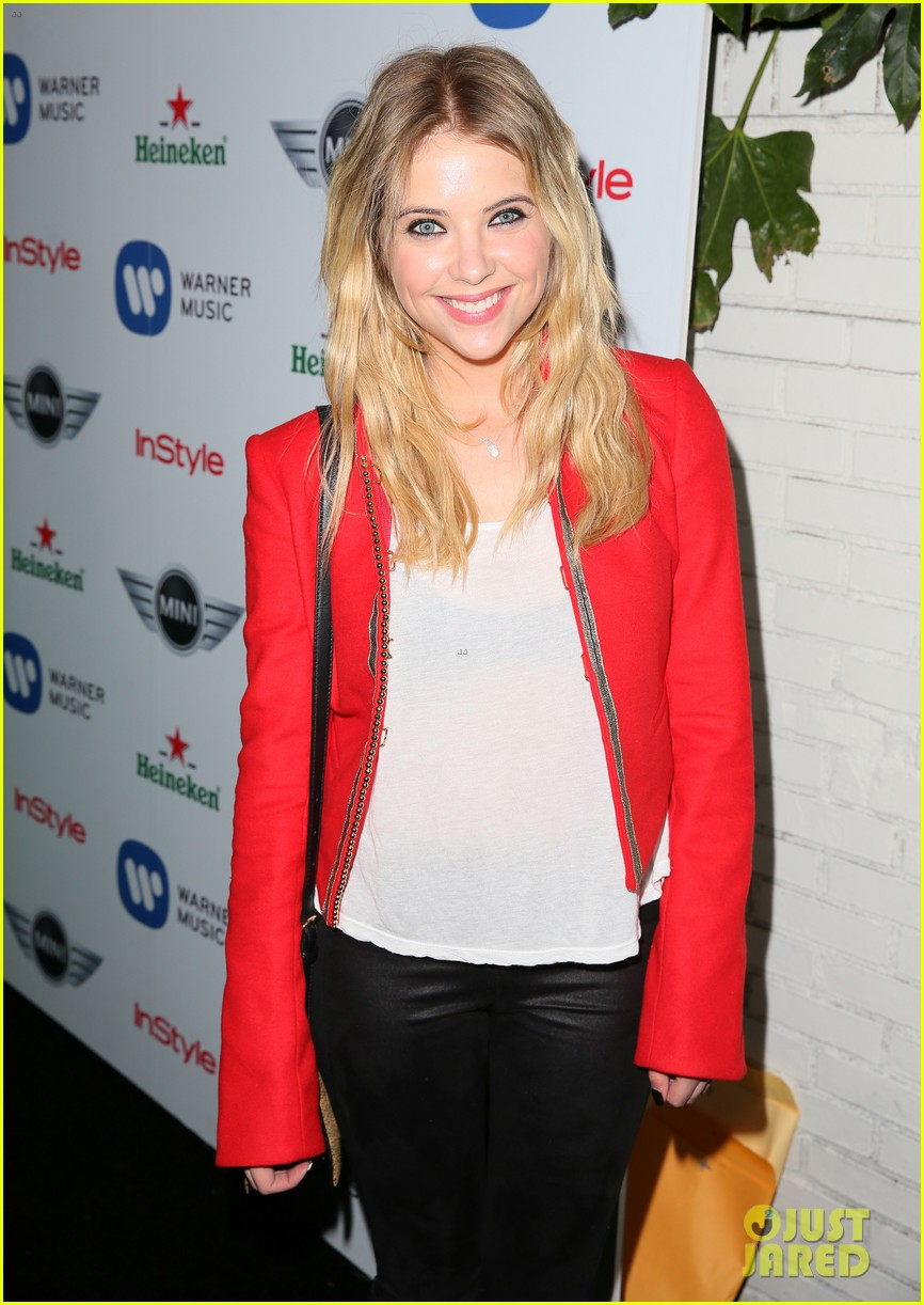ashley benson warner music group grammy after party 052809867