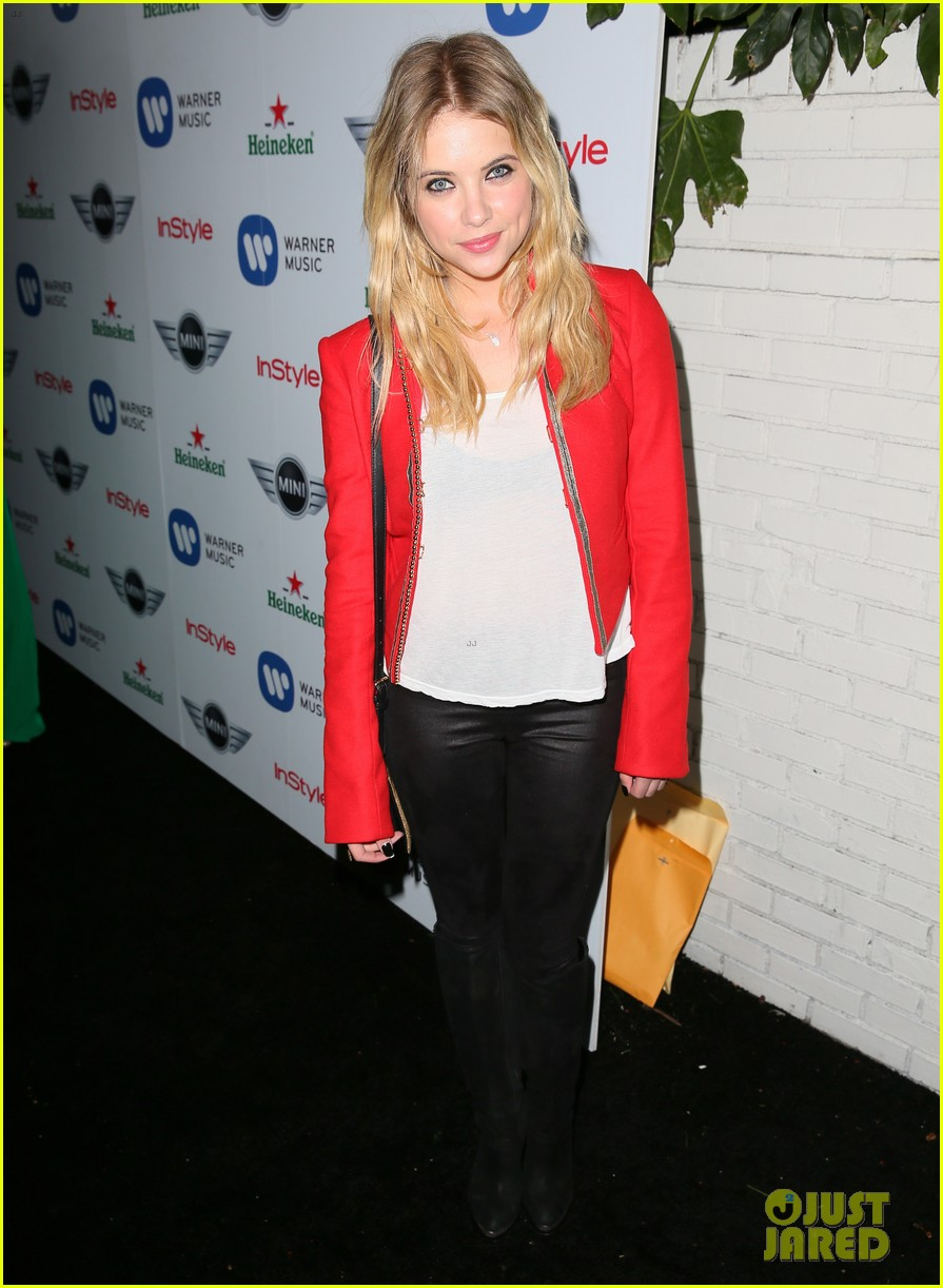 ashley benson warner music group grammy after party 162809878