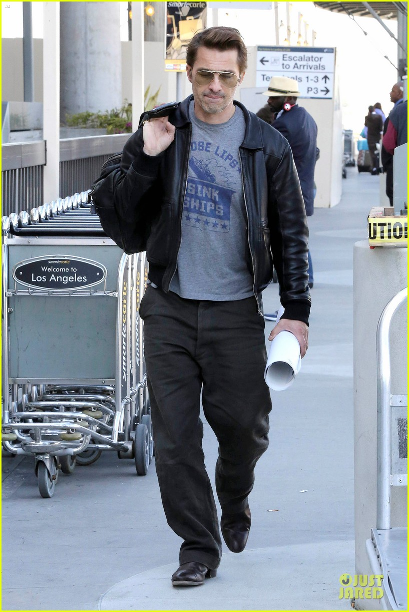 halle berry olivier martinez different airport arrivals 172821482
