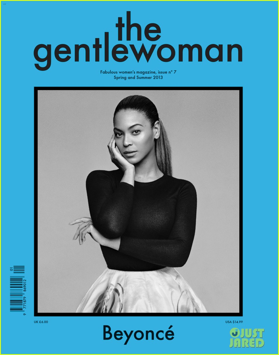 beyonce covers the gentlewoman ss 2013 01