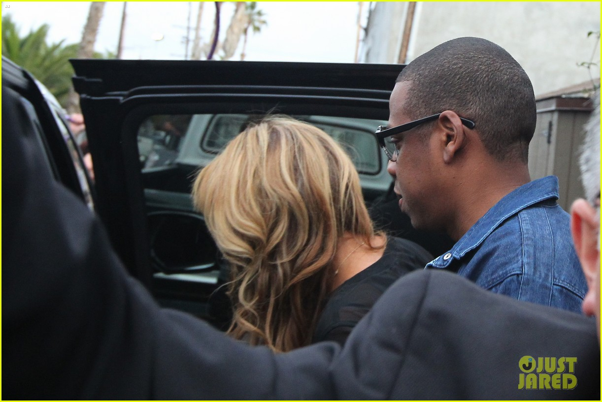beyonce jay z gjelina lunch date with blue ivy 042806884