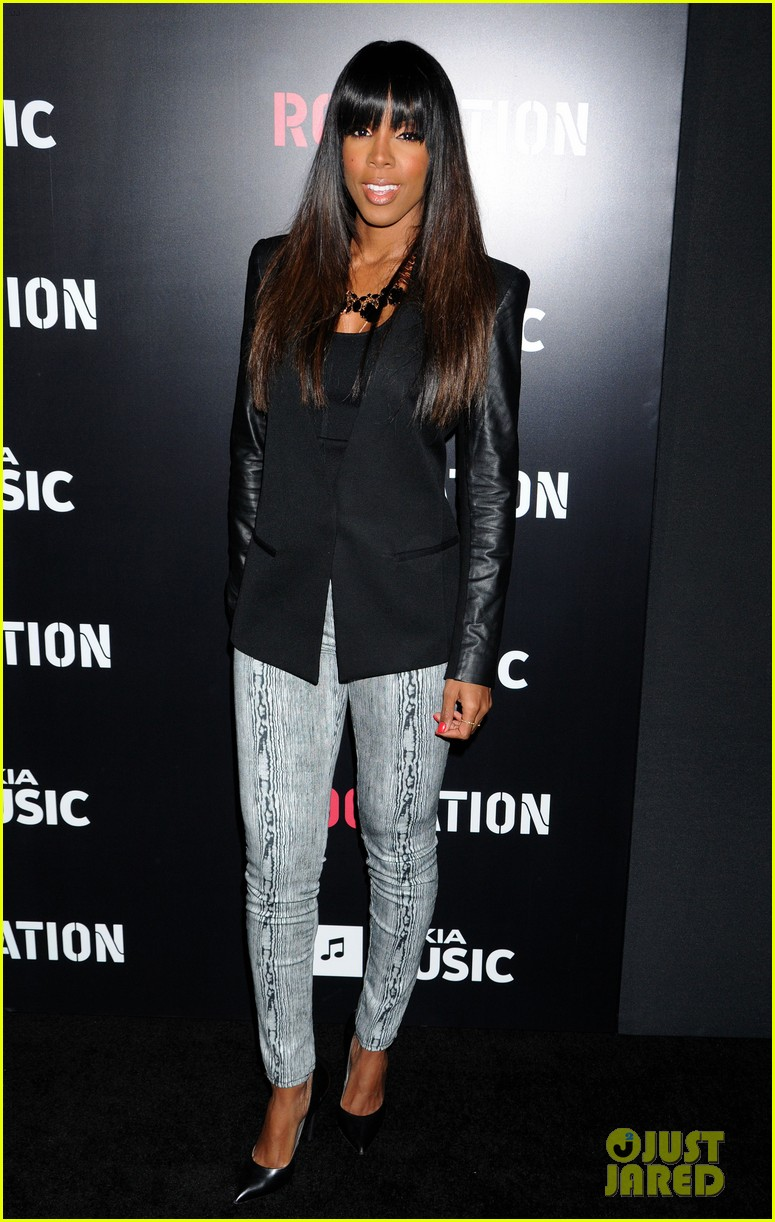 beyonce solange knowles roc nation pre grammy party 2013 032808503