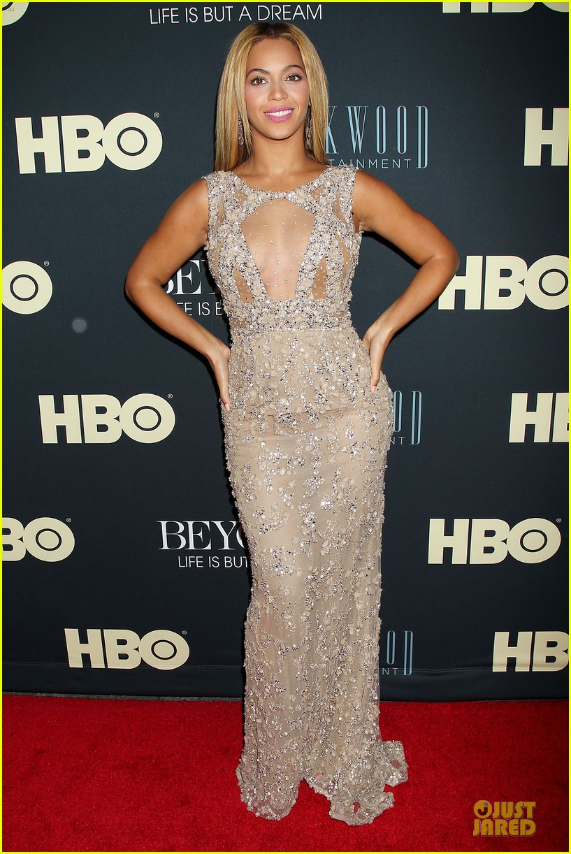 beyonce oprah winfrey life is but a dream ny premiere 032810908