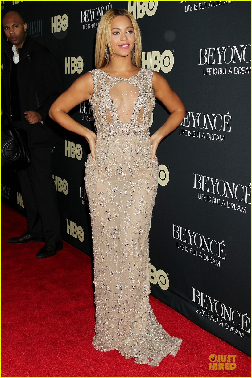 beyonce oprah winfrey life is but a dream ny premiere 142810919