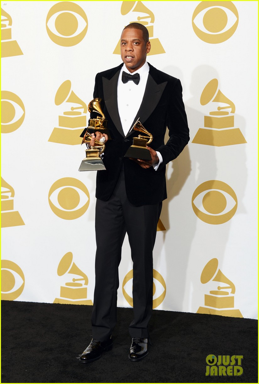 beyonce jay z grammys 2013 winners room photos 052809633