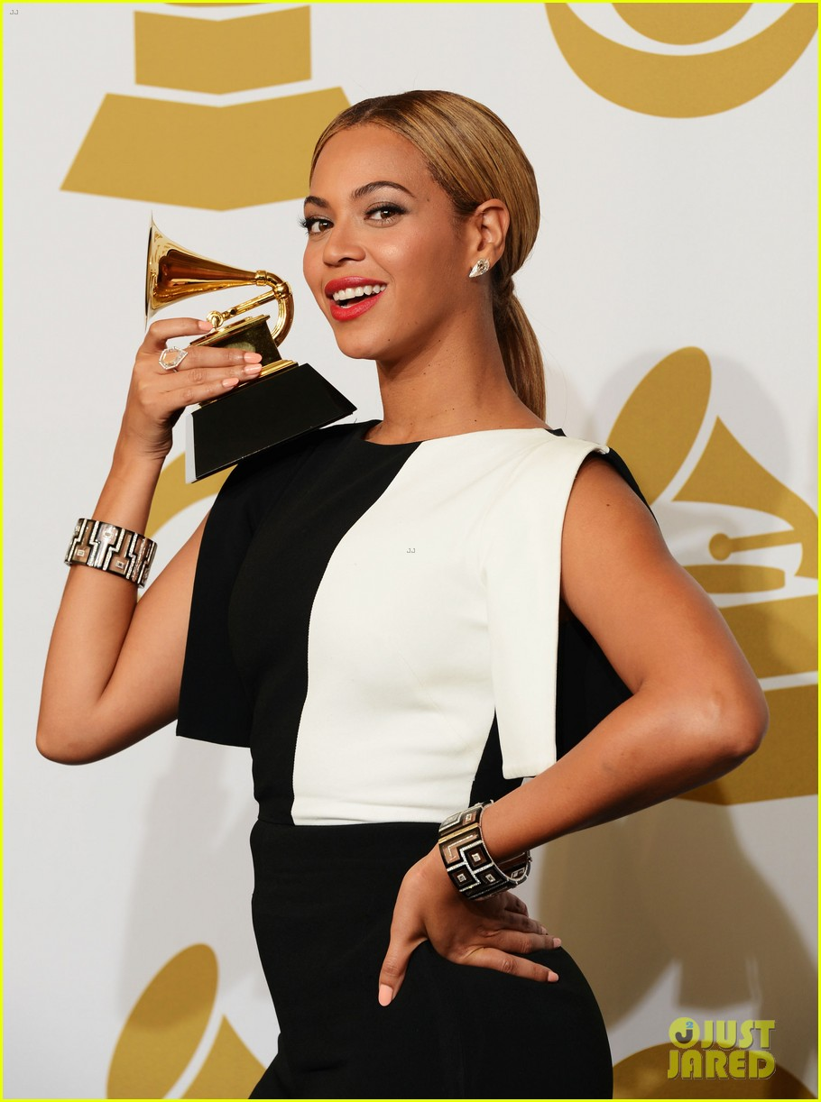beyonce jay z grammys 2013 winners room photos 172809645
