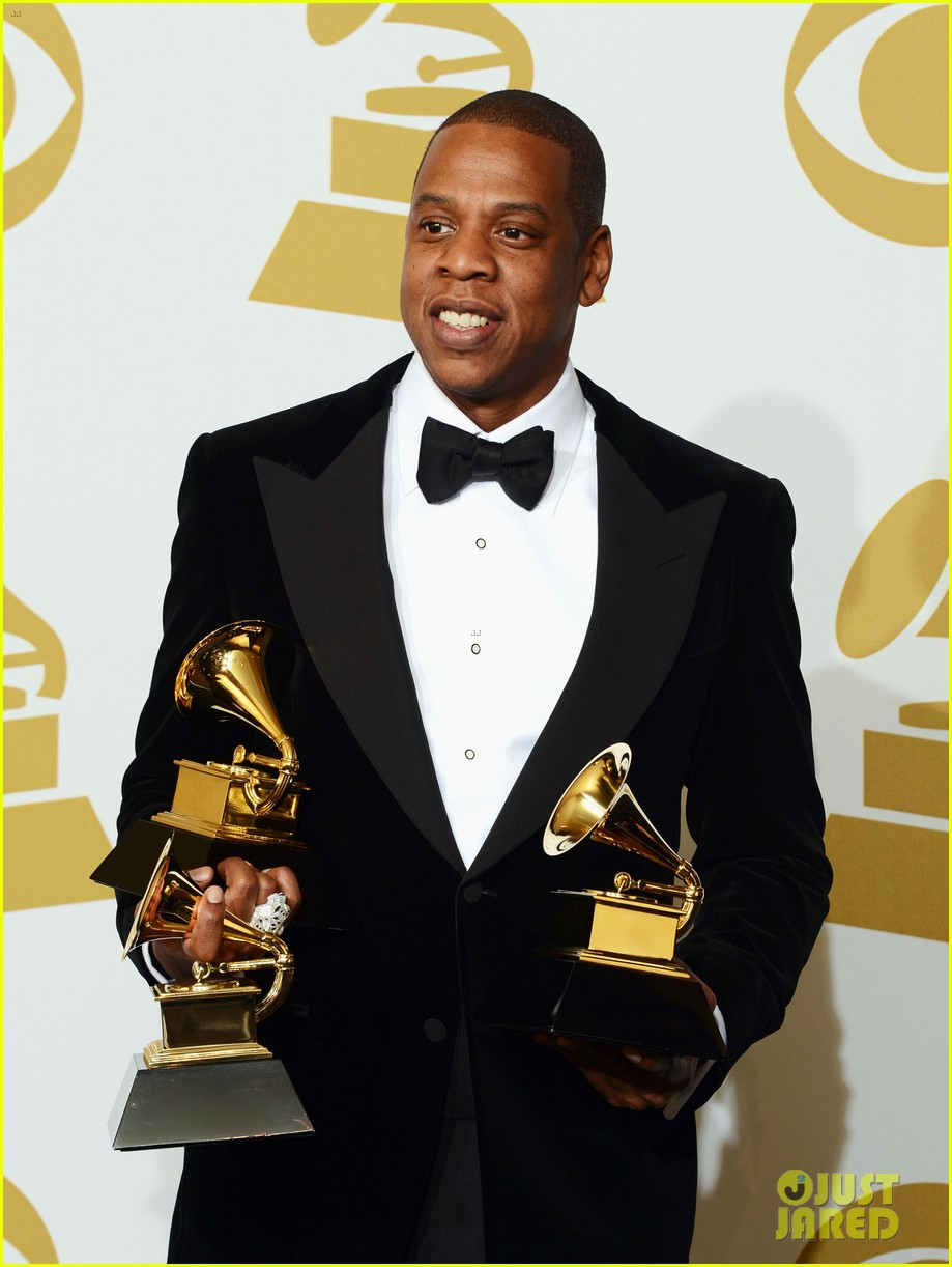 beyonce jay z grammys 2013 winners room photos 182809646