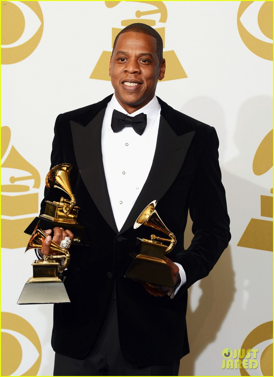 beyonce jay z grammys 2013 winners room photos 222809650