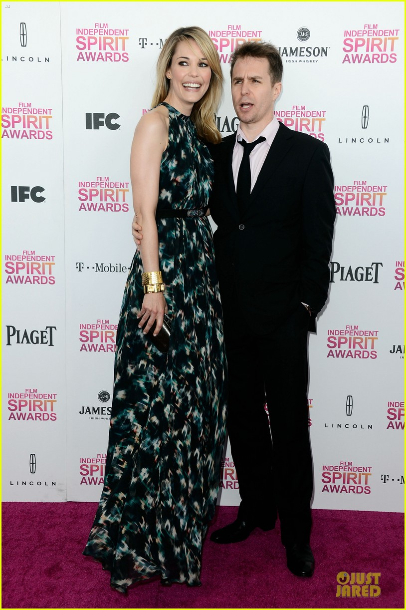 leslie bibb sam rockwell independent spirit awards 2013 05