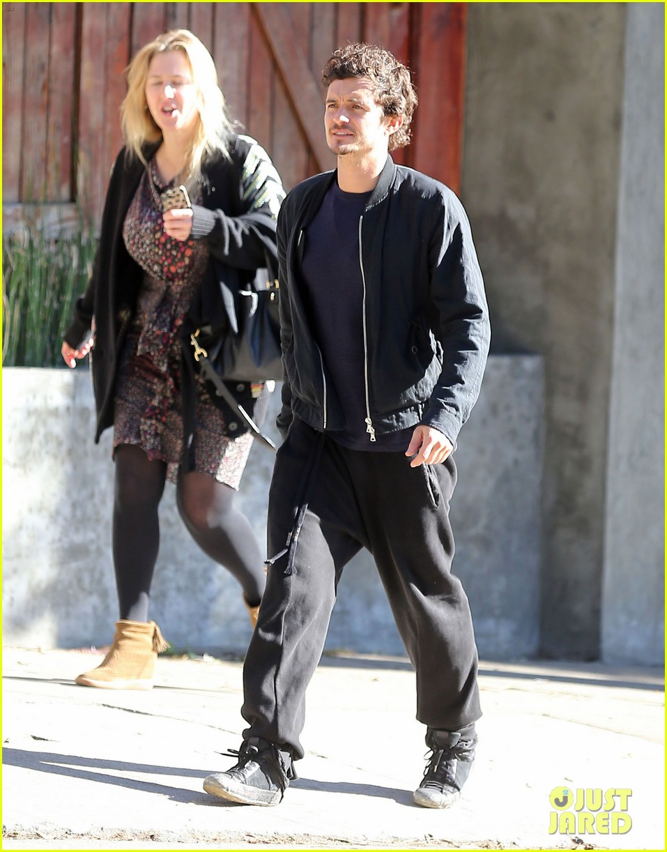 orlando bloom little doms lunch 092802312