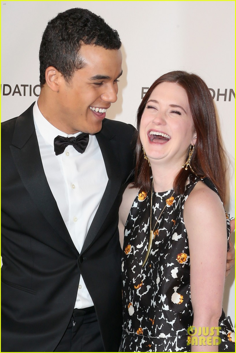 bonnie wright jacob artist elton john oscars party 02