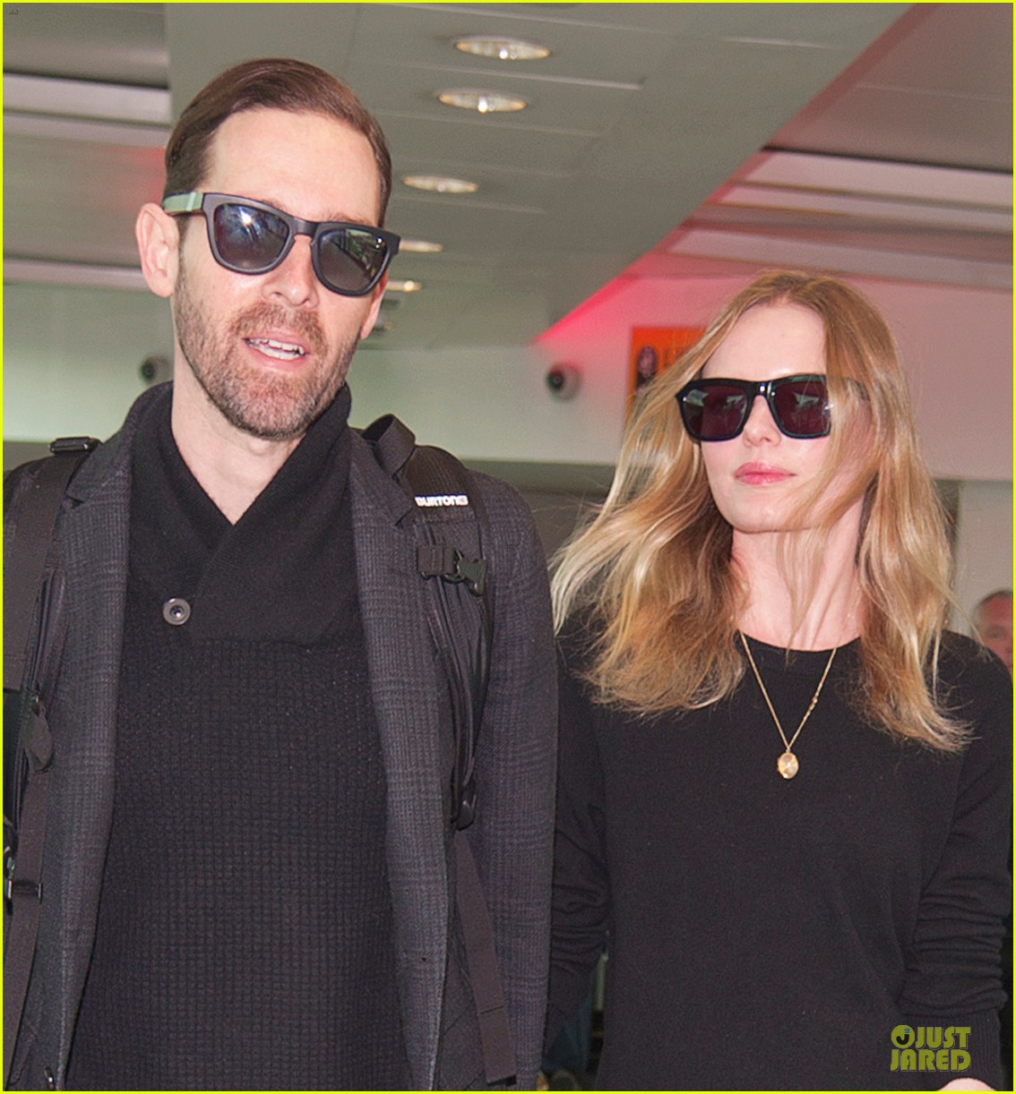 kate bosworth michael polish london fashion week arrival 012813576