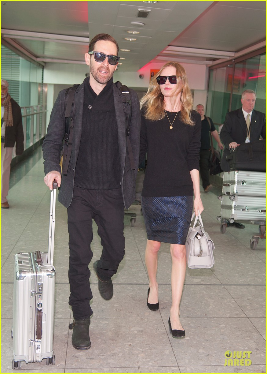 kate bosworth michael polish london fashion week arrival 032813578