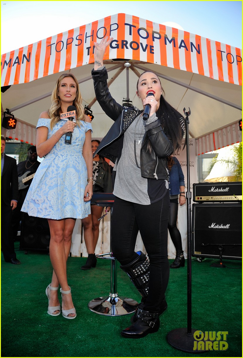 kate bosworth demi lovato topshop grand opening 222812547