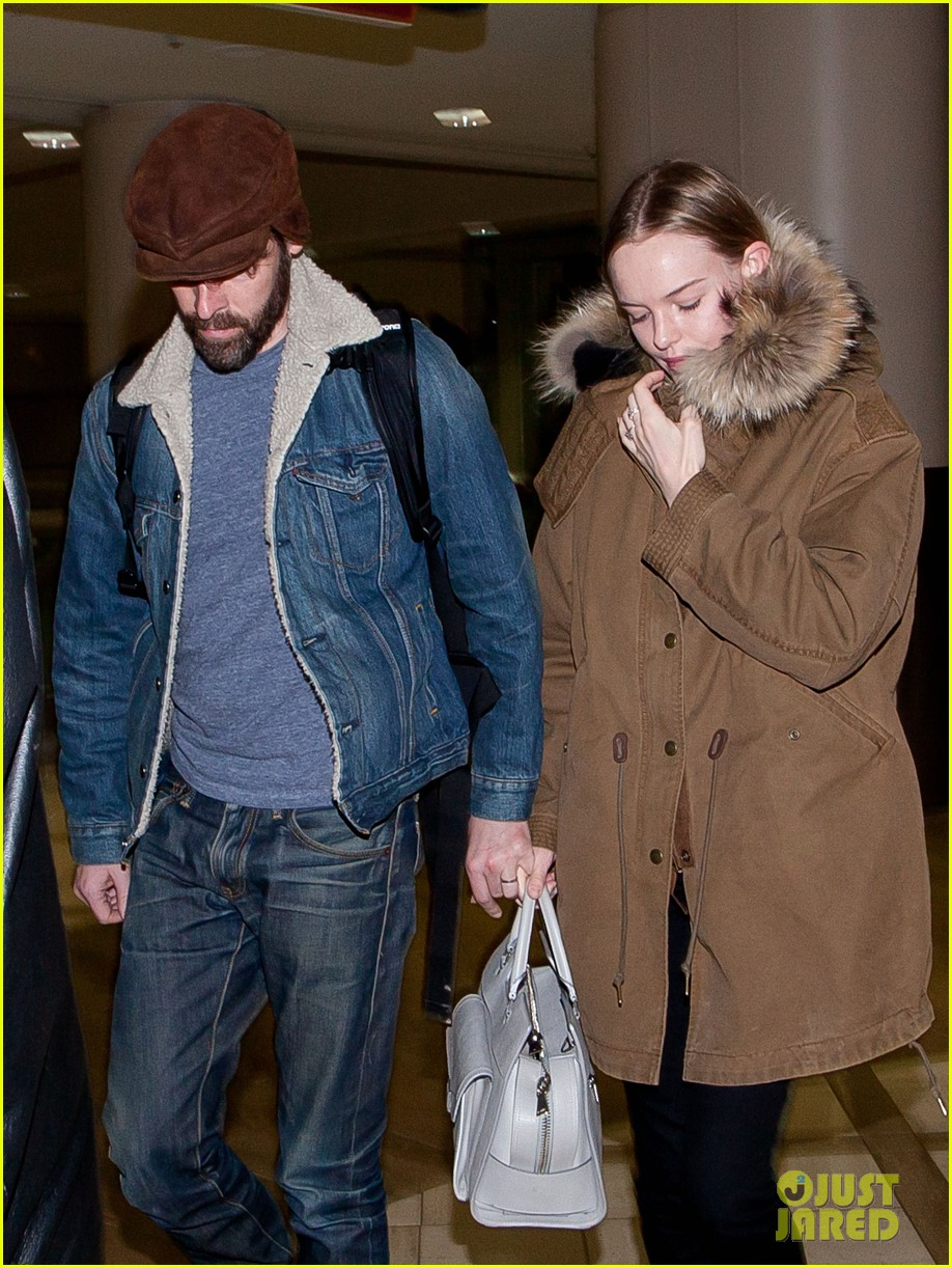 kate bosworth lax arrivial with michael polish 102805269