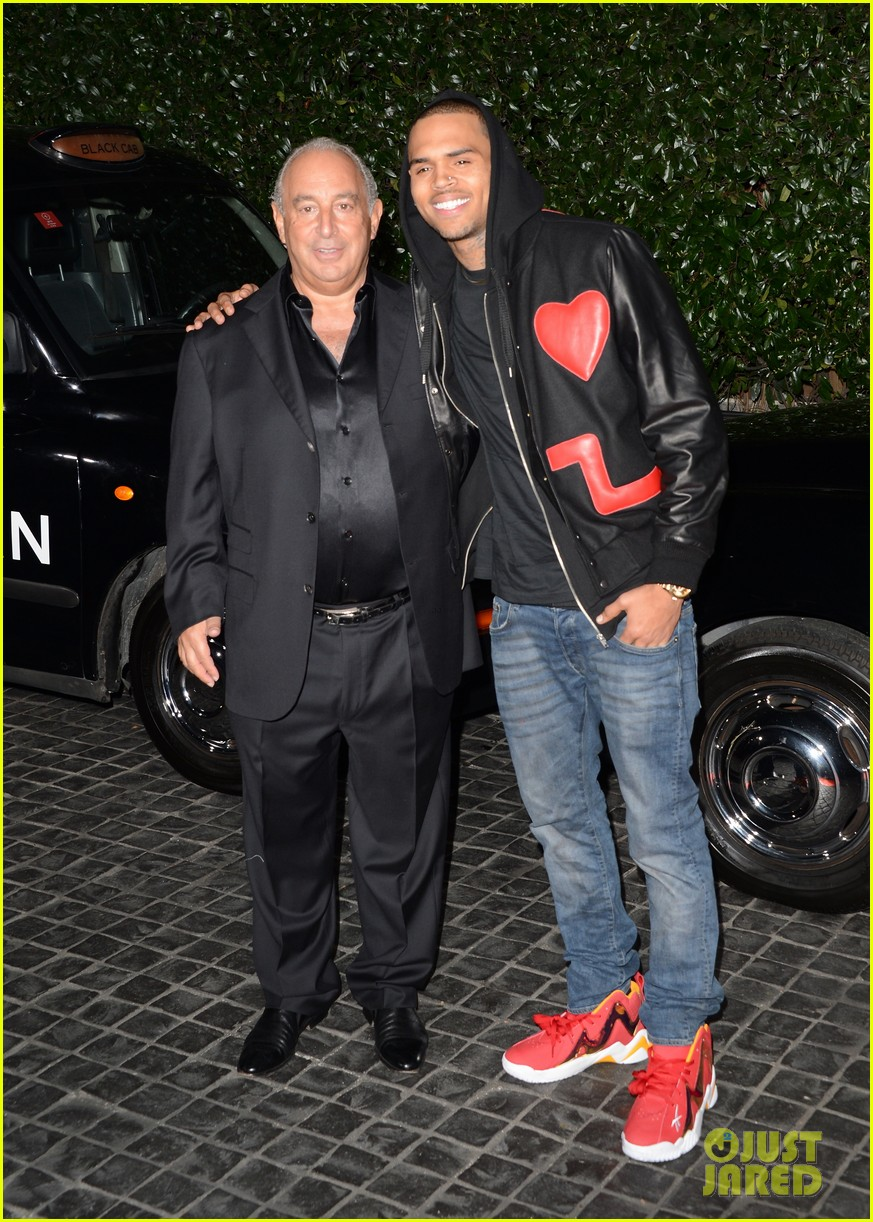 chris brown solange knowles topshop topman la opening party 092811920