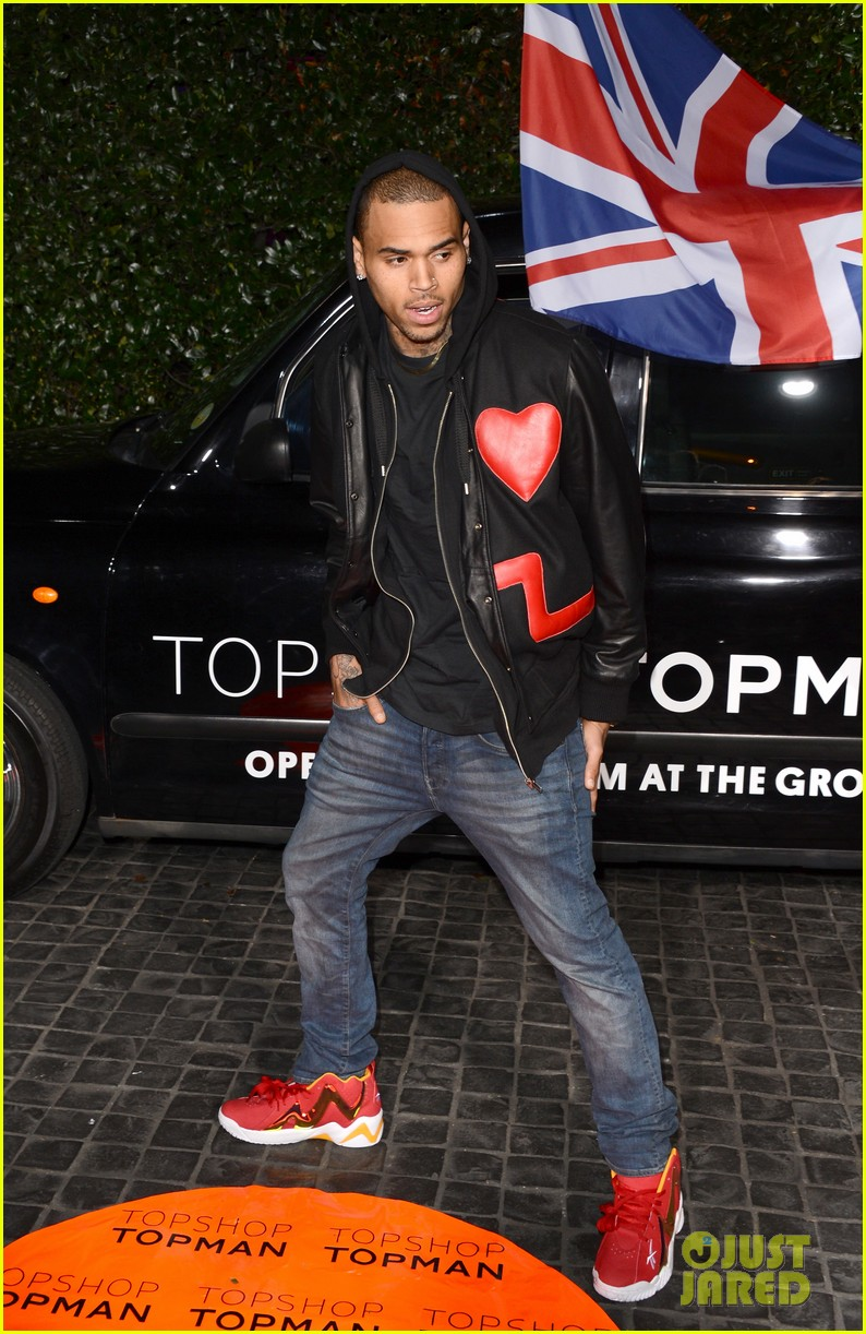 chris brown solange knowles topshop topman la opening party 132811924