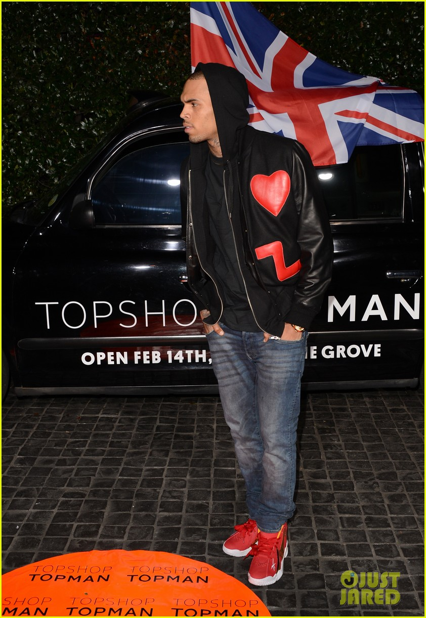 chris brown solange knowles topshop topman la opening party 142811925