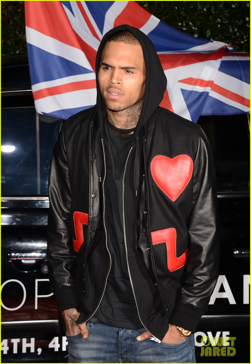 chris brown solange knowles topshop topman la opening party 152811926