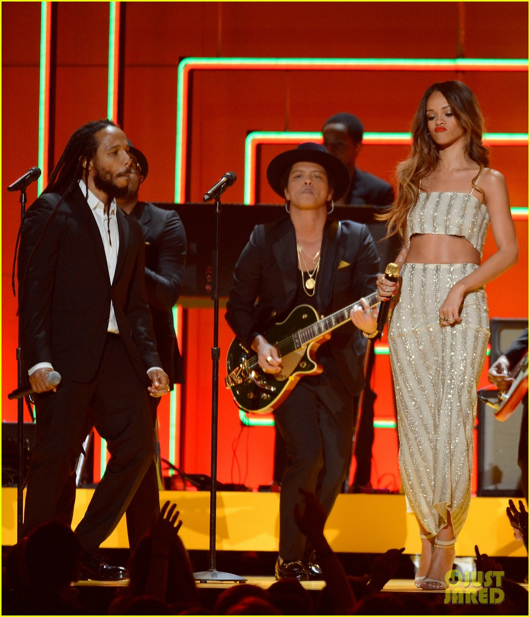 bruno mars sting grammys 2013 performance watch now 032809564
