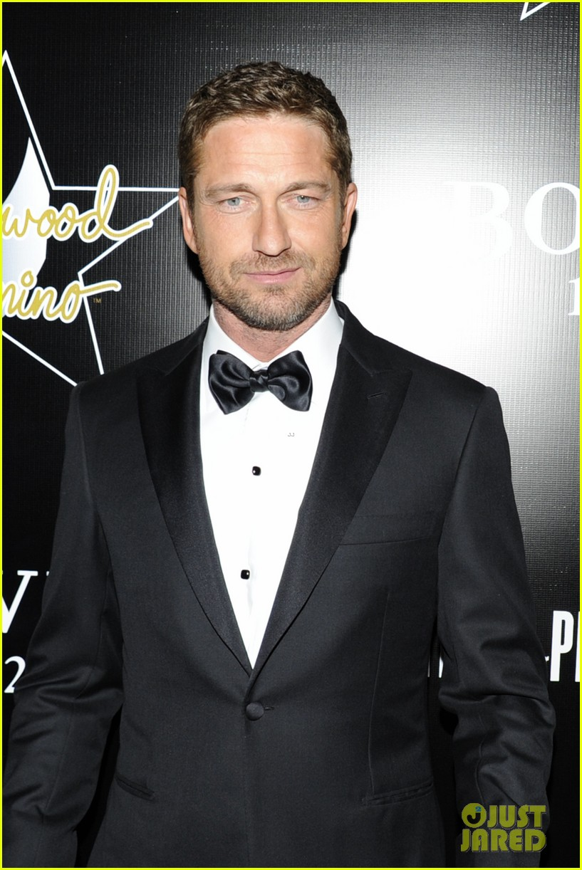 gerard butler hollywood domino pre oscar gala 232817015