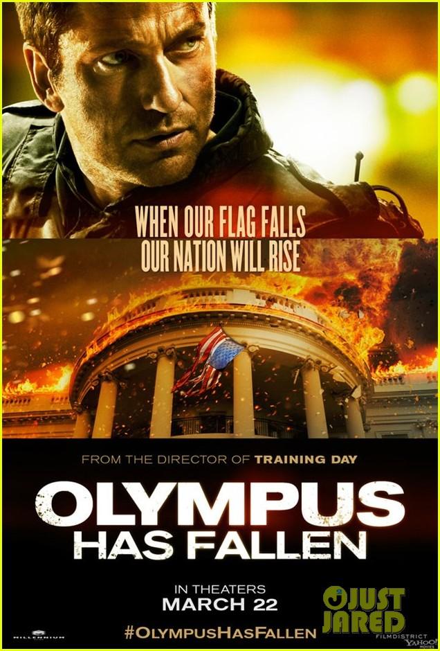 gerard butler new olympus has fallen poster 032805945