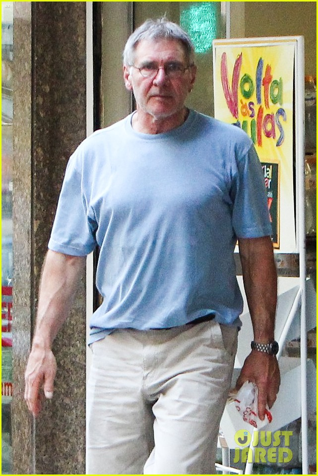 calista flockhart bikini beach day with harrison ford 022814410