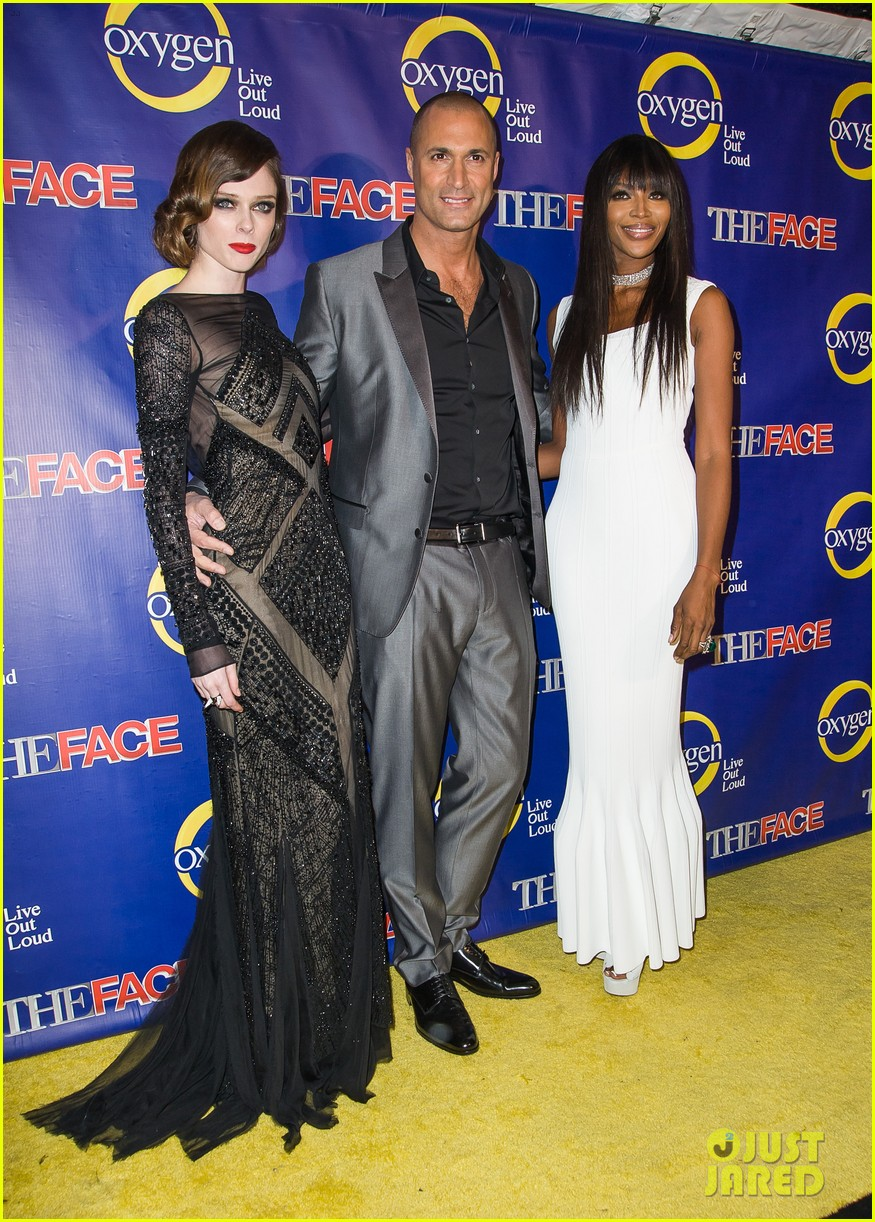 naomi campbell coco rocha the face premiere 13