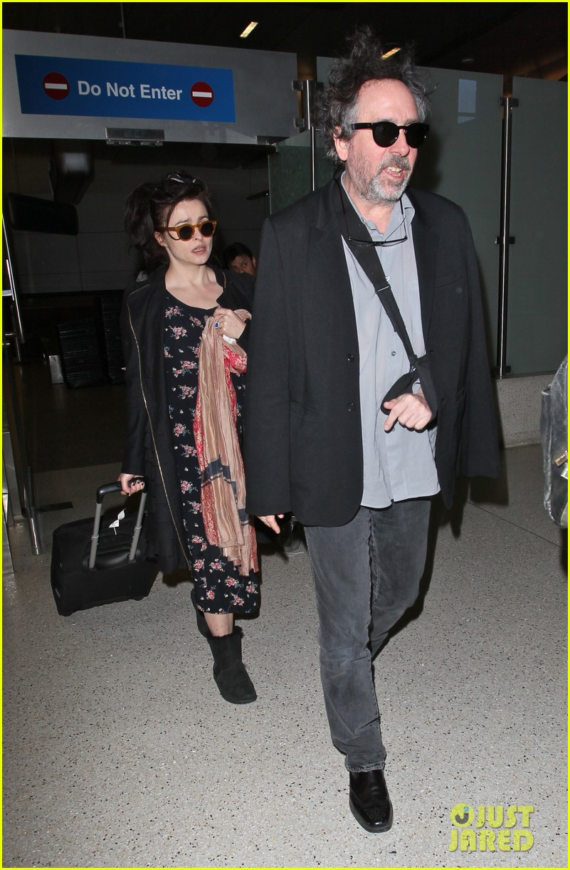 helena bonham carter tim burton arrive for oscars week 032816305