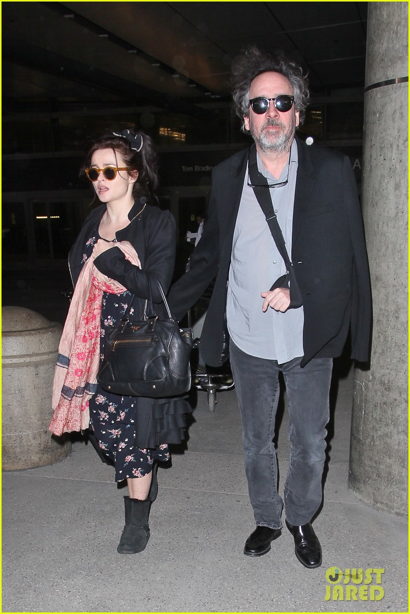 helena bonham carter tim burton arrive for oscars week 042816306