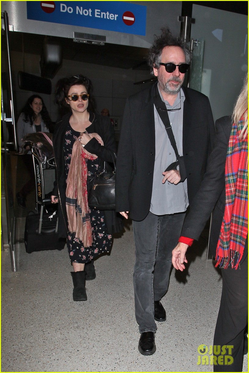 helena bonham carter tim burton arrive for oscars week 132816315