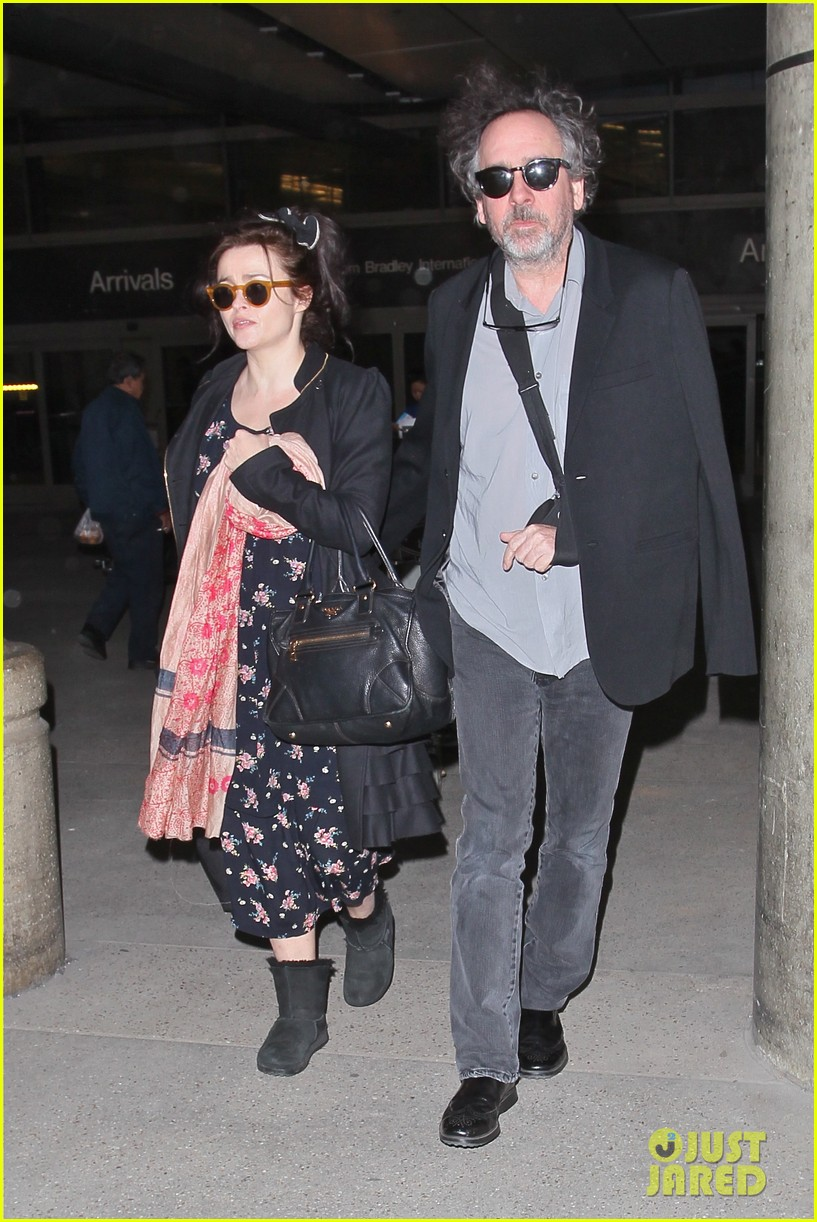 helena bonham carter tim burton arrive for oscars week 162816318