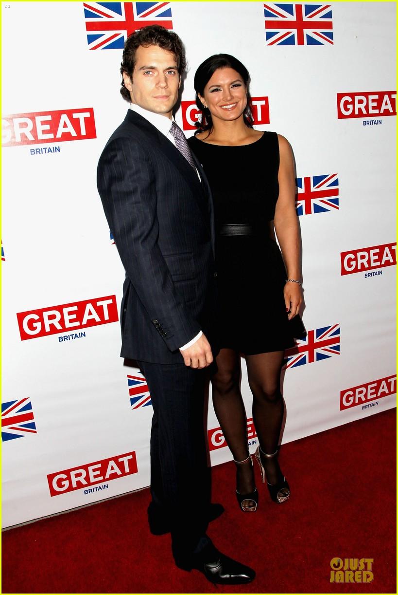 henry cavill gina carano great british film reception 032817450