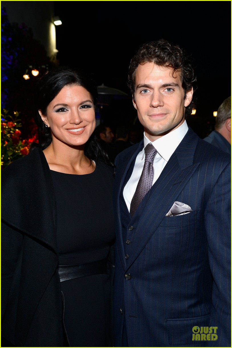henry cavill gina carano great british film reception 04