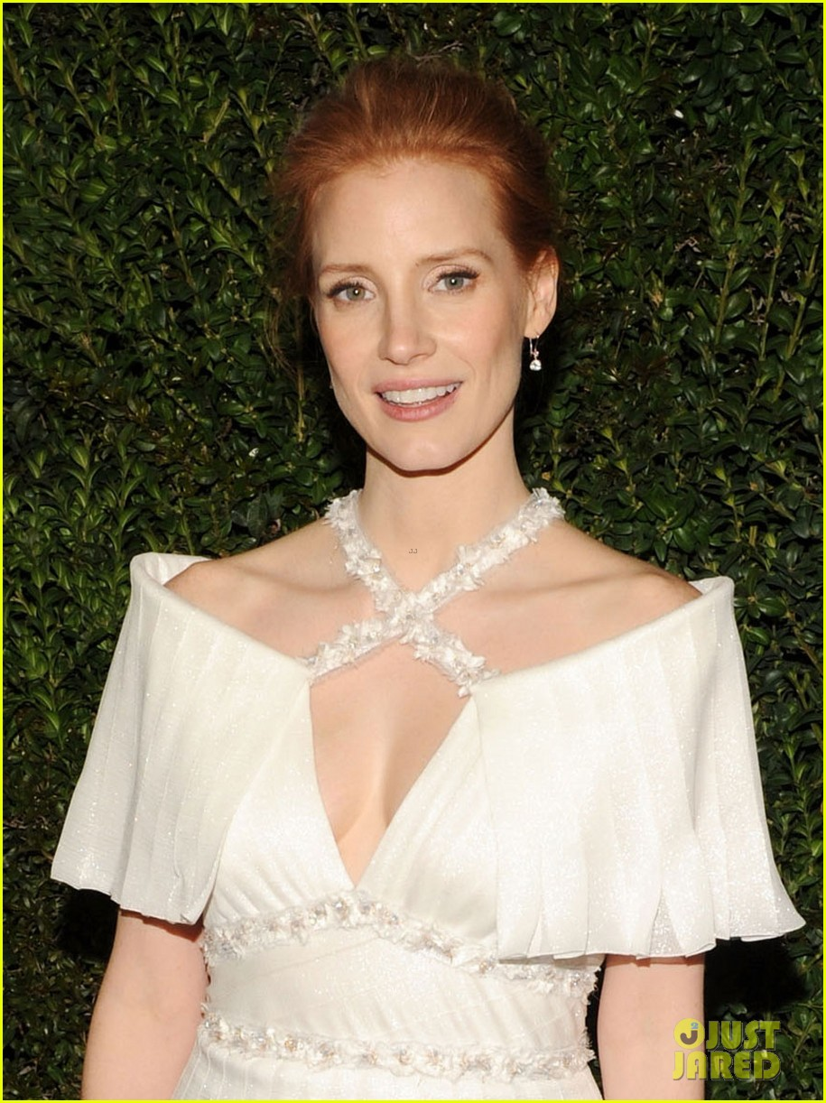 jessica chastain chanel pre oscars dinner 2013 022818327