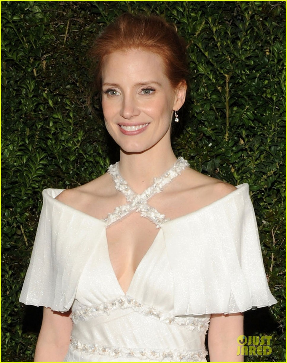 jessica chastain chanel pre oscars dinner 2013 042818329
