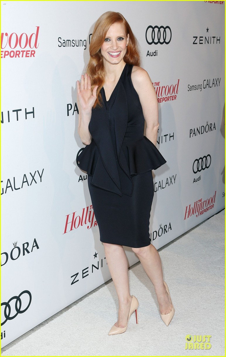 jessica chastain hugh jackman tonight show with jay leno guests 092805239