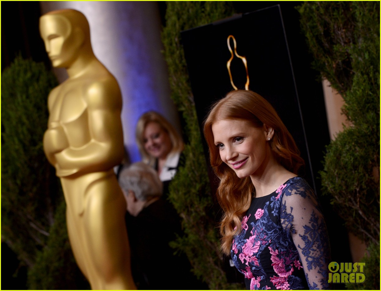 jessica chastain oscar nominees luncheon 2013 062804678