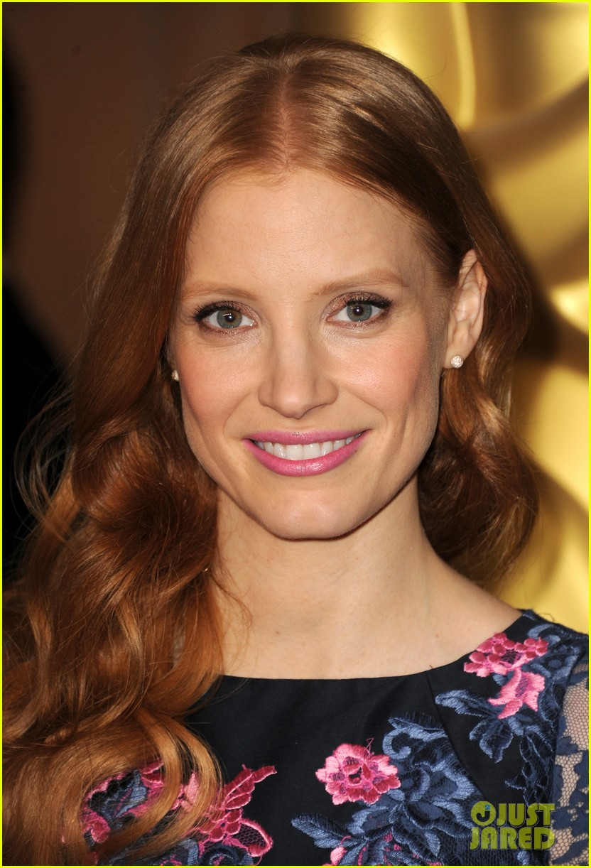 jessica chastain oscar nominees luncheon 2013 082804680