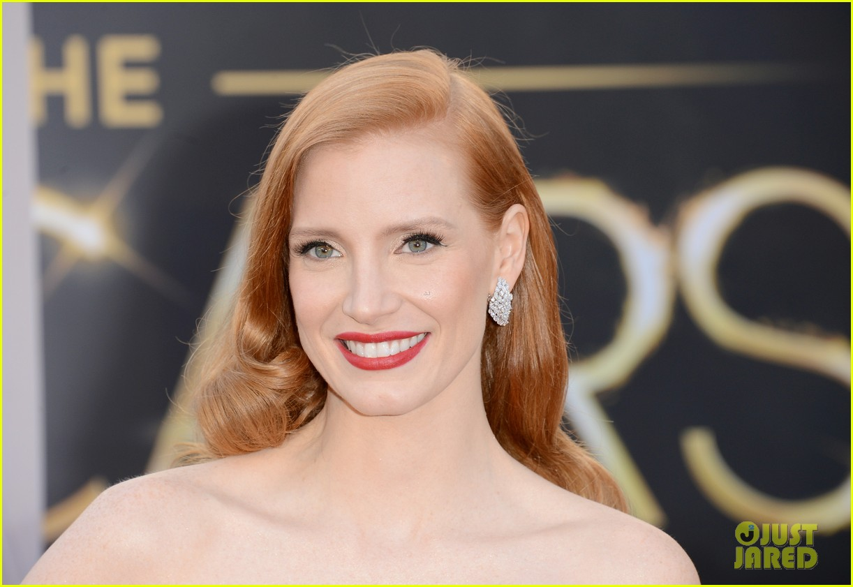 jessica chastain oscars 2013 red carpet 062818972
