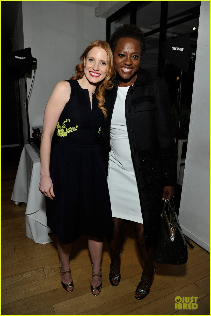 jessica chastain daniel radcliffe women in film pre oscar cocktail party 012817487